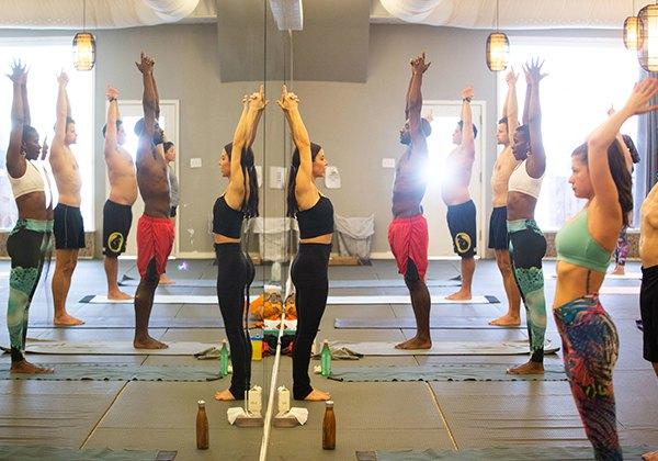 Tập Yoga buổi chiều