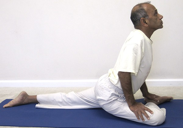 Tư thế Yoga chim bồ câu