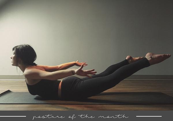 Tư thế Yoga con châu chấu