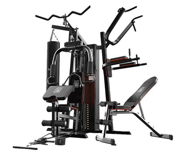 Giàn tạ đa năng HQ-808P hỗ trợ hơn 30 bài tập Gym giá rẻ Nhất
