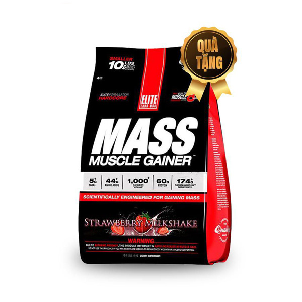Sữa tăng cân tăng cơ Mass Muscle Gainer, 10Ibs/4,6kg