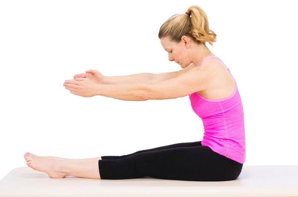 Bài tập Pilates Sit Up