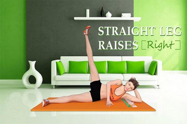 Bài tập Straight Leg Raises