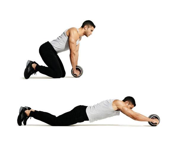 Bài tập Gym giảm cân Ab Roller