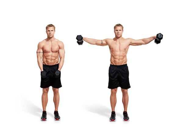 Bài tập Gym giảm cân Side Lateral Raise