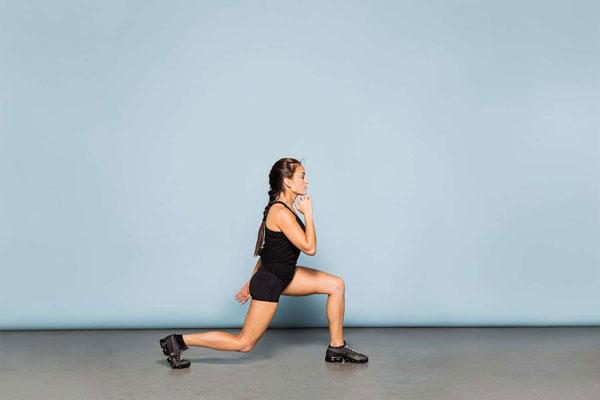 Bài tập Gym giảm cân Split Squats