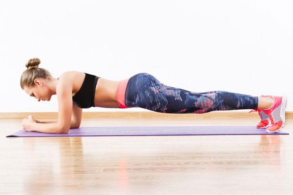 Bài tập Plank giúp cải thiện chiều cao