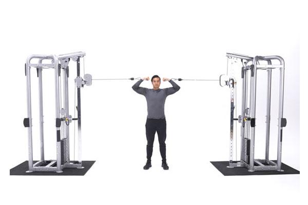 Overhead Cable Curl là bài tập cơ bắp tay trước mang lại hiệu quả cao