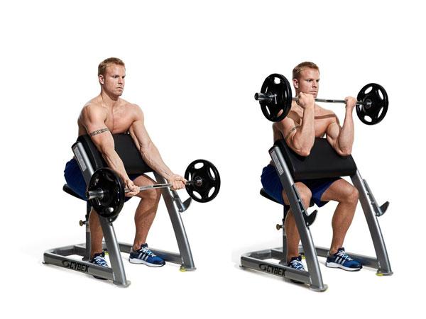 Thực hành bài tập Preacher Curl đúng cách giúp phát triển cơ bắp tay cực tốt