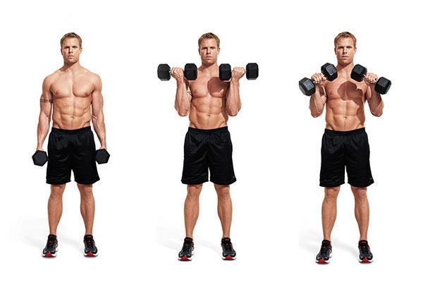 Bài tập Zottman Curl giúp nam giới cải thiện bắp tay trước hiệu quả