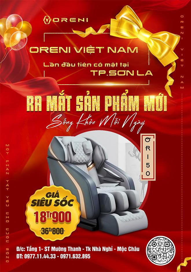 Oreni Việt Nam khuyến mại