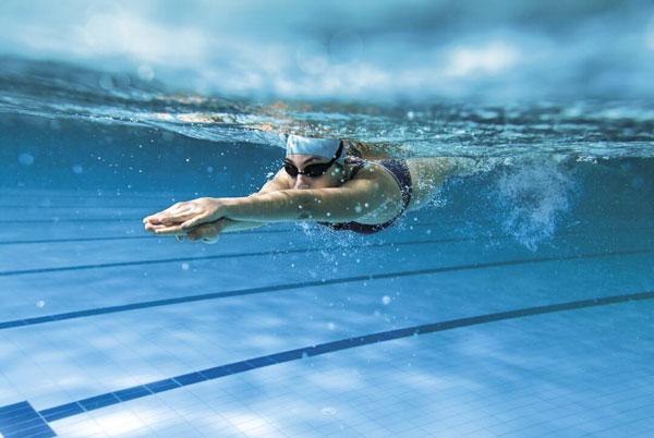 Tăng chiều cao bằng bơi lội
