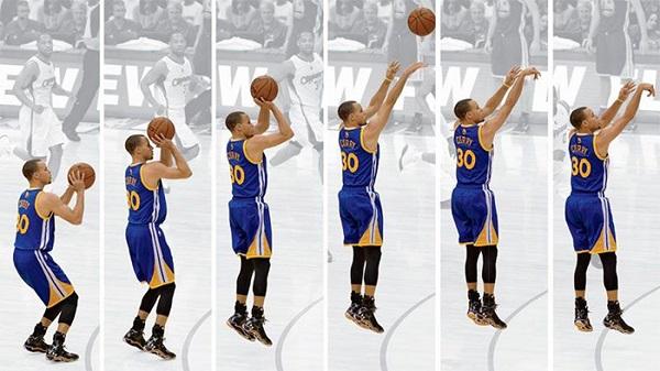 Cách ném bóng rổ một tay