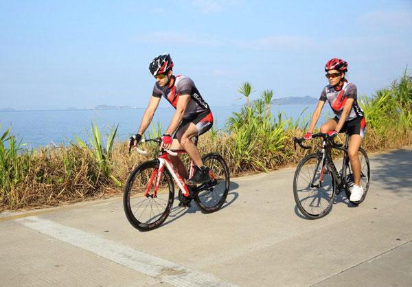 Chọn địa điểm đạp xe thích hợp