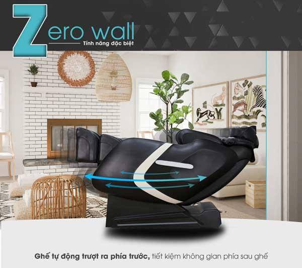 Chức năng lùi tường trên ghế massage Saporoo SP-909FX