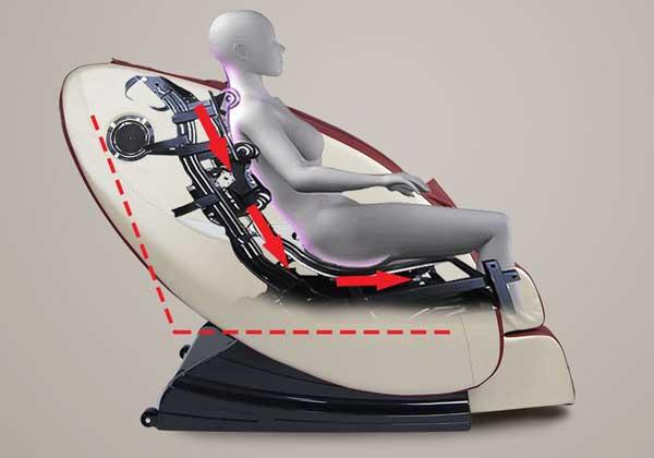 Công dụng của ghế massage trị liệu