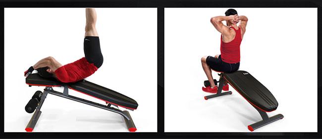 Gập bụng ghế tập Gym DDS-1201