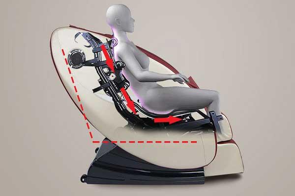 Sử dụng ghế massage hỗ trợ điều trị bệnh thoát vị đĩa đệm