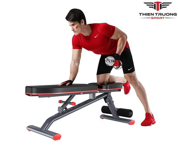 Ghế tập Gym đa năng DDS-1201 hỗ trợ nhiều bài tập hiệu quả
