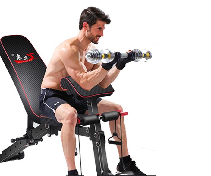 Ghế tập Gym KK022D đa năng giá tốt cho phòng tập và tại nhà
