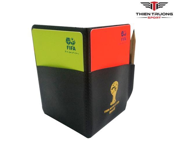 Thẻ trọng tài tiêu chuẩn FIFA dùng thi đấu bóng đá giá rẻ Nhất