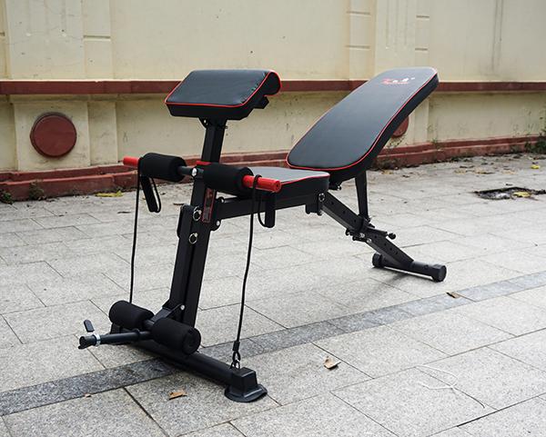 Hình ảnh thực tế ghế tập Gym KK022D