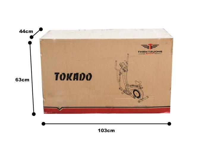 Kích thước thùng của xe đạp tập Tokado TK688
