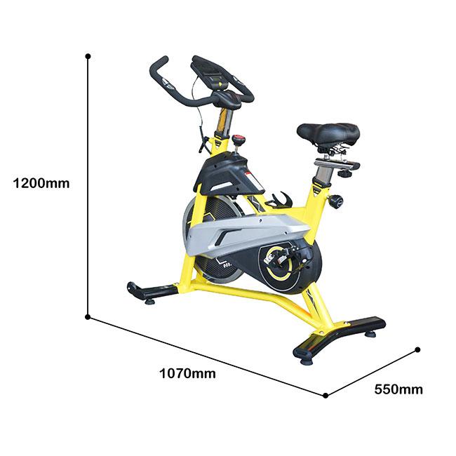 Kích thước xe đạp tập Tokado TK007