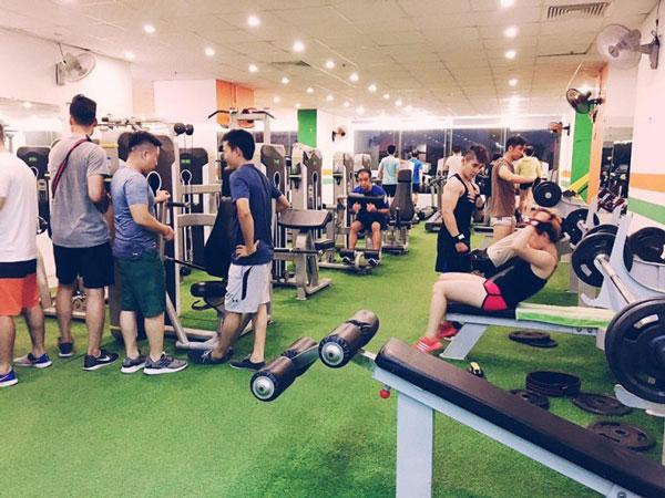 Phòng tập Gym đầy đủ dụng cụ giúp bạn phát huy hiệu quả tập luyện
