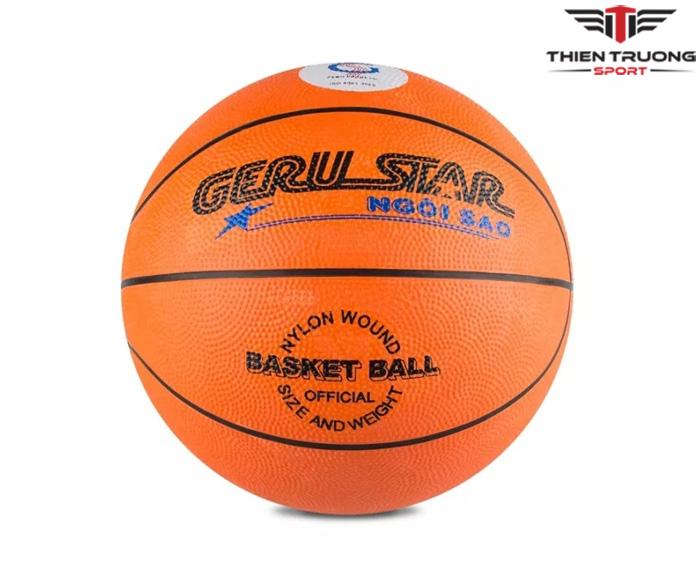 Quả bóng rổ Gerustar số 5 dùng cho học sinh giá tốt Nhất !