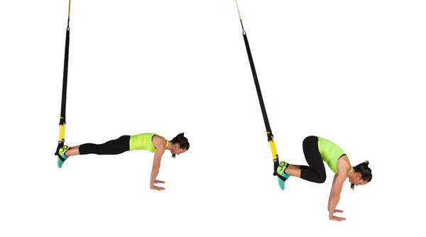 Bài tập bụng dưới với dây