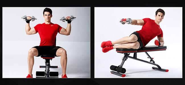 Tập vai ghế tập Gym DDS-1201