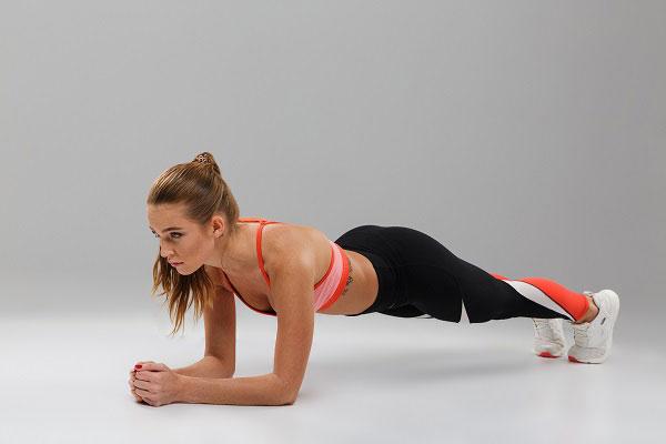 Tập Yoga tại nhà với tư thế Plank