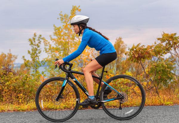 Xác định tư thế đúng khi đạp xe
