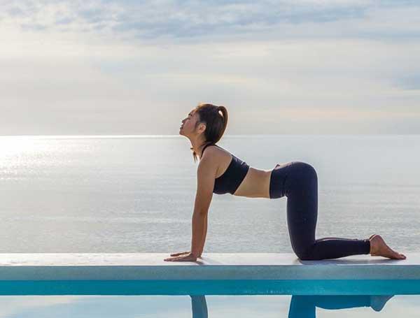 Tư thế Yoga con bò (Cow Pose)