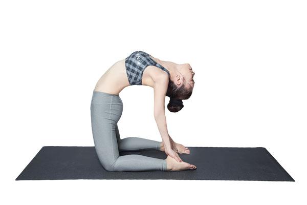 Tư thế Yoga con lạc đà (Camel Pose)