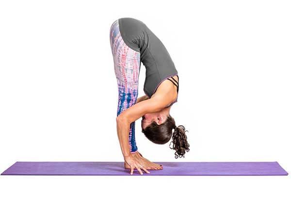 Tư thế đứng gập người (Standing Forward Fold Pose)