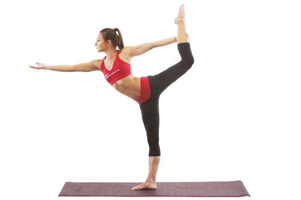 Tư thế Yoga vũ công (Dance Pose)