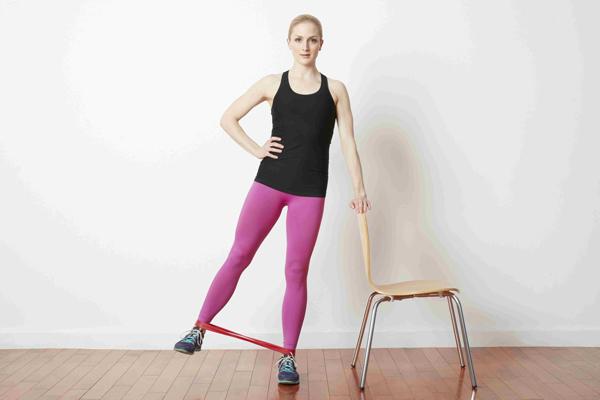 13 bài tập mông với dây kháng lực hiệu quả, áp dụng tại nhà !