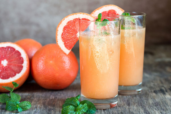 Cocktail bưởi giảm cân.