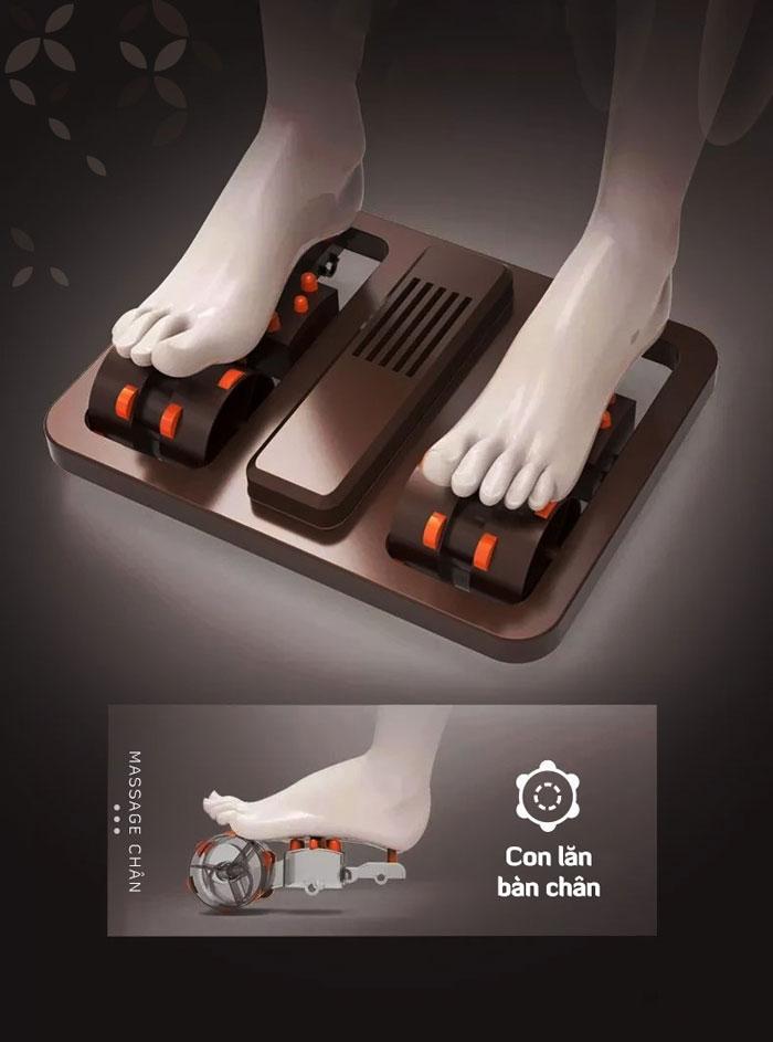 Con lăn trên ghế massage Oreni OR-350