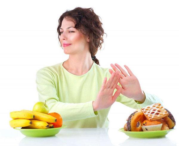 Giảm bớt sự thèm ăn các chất không lành mạnh