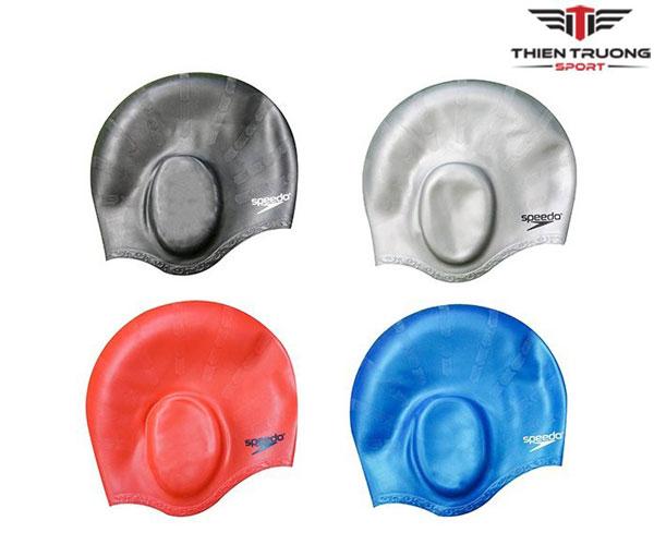 Mũ bơi Speedo Silicone có tai giá rẻ nhất tại Thiên Trường Sport