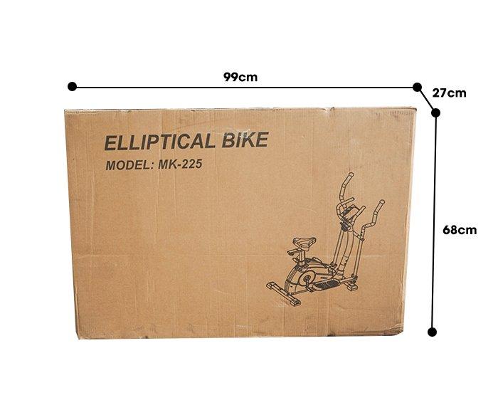 Kích thước thùng xe đạp tập thể dục MK-225
