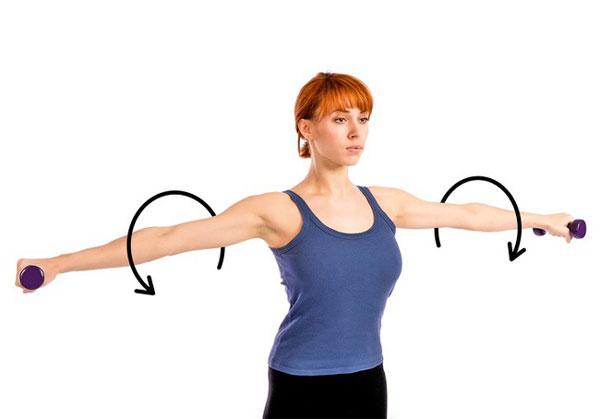 Lợi ích của bài tập giảm mỡ bắp tay