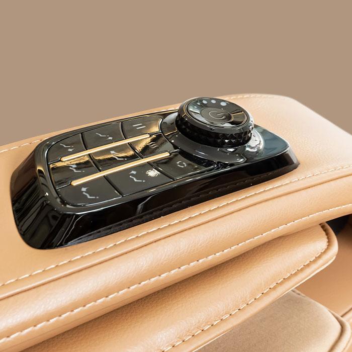 Phím tùy chỉnh nhanh trên ghế massage Oreni OR-520 Plus