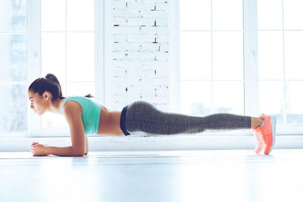 Tập Plank hỗ trợ giảm cân an toàn, hiệu quả