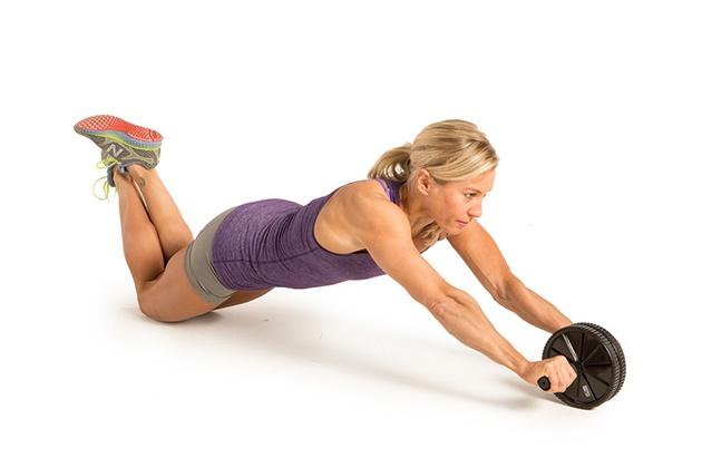 Plank sử dụng con lăn