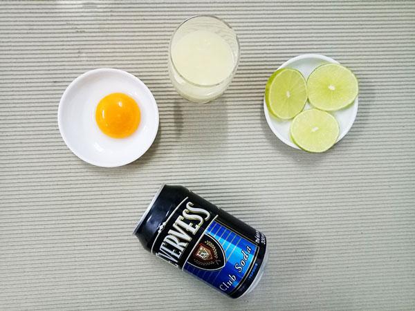 Soda sữa + trứng gà