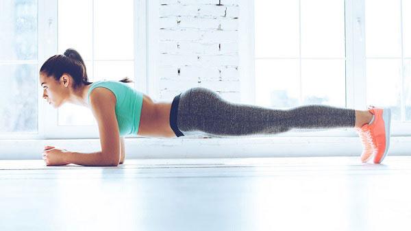 Tập eo bụng nhỏ Plank